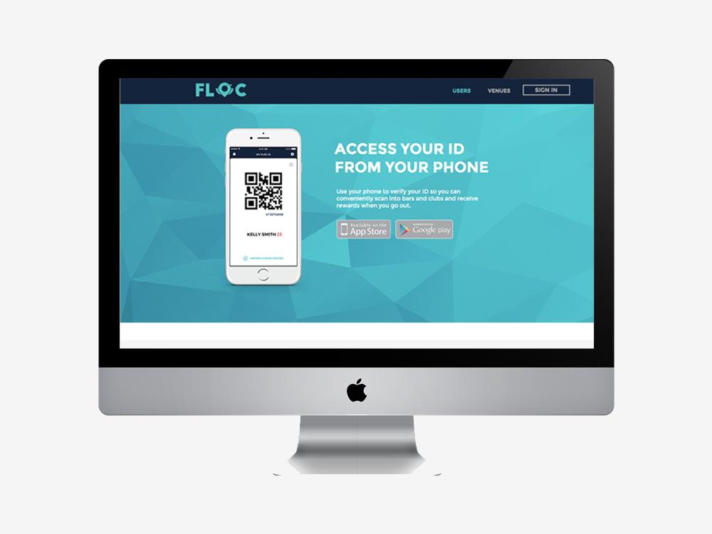 FLOC WEBSITE DESIGN