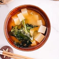 Miso leves tofuval