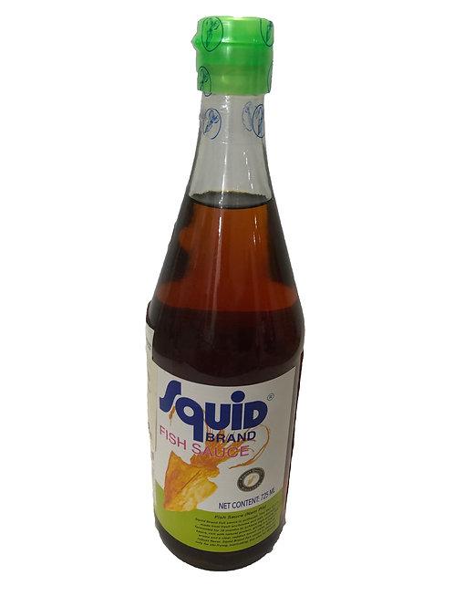 Squid brand halszósz 725ml