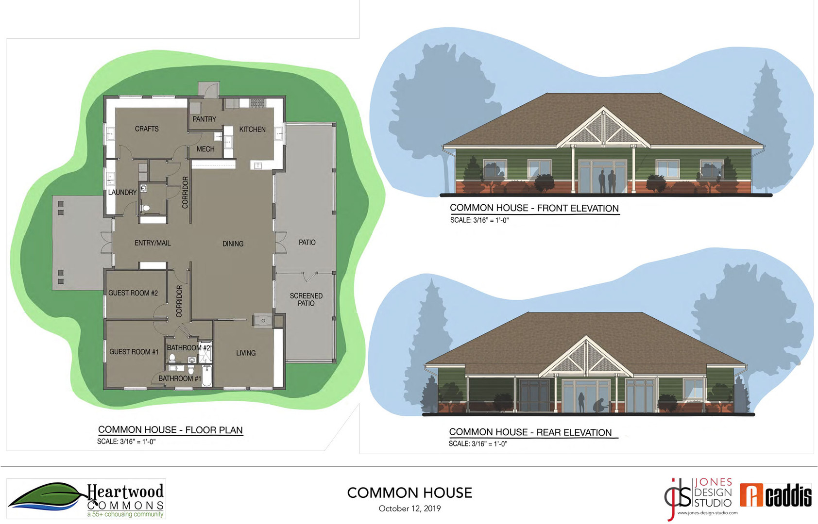 Common House Rendering