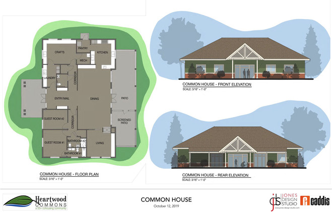 Common House Rendering
