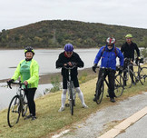 Ride along miles and miles of River Parks trails