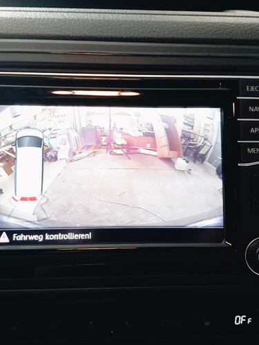 Adaption Rückfahrkamera mit Originalradio