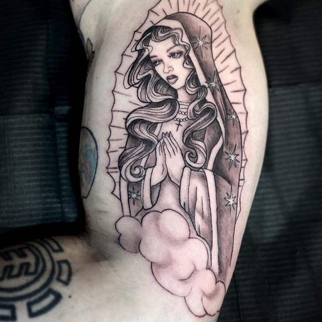 Our lady of Guadalupe, one more tiny lil