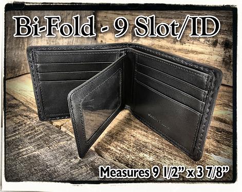 Bi-Fold - 9 Slot Wallet