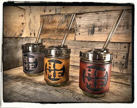 "Ohio ""HOME"" Mason Jar Mugs"