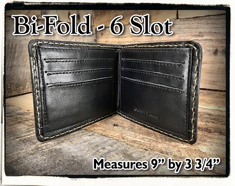Bi-Fold - 6 Slot Wallet