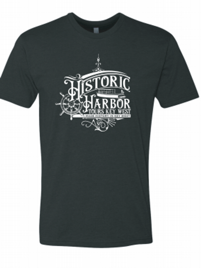 Black Historic Harbor Tours Shirt