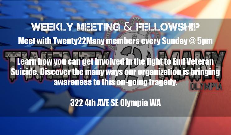 Weekly Meeting and Fellowship