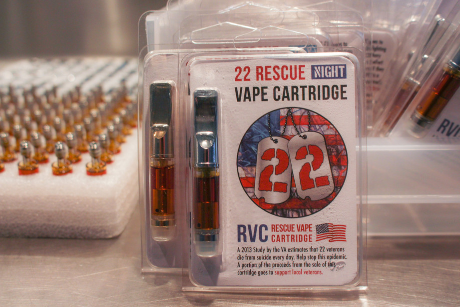 22 Rescue Vape Cartridge