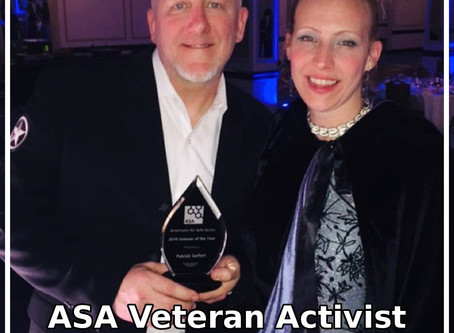 Americans for Safe Access Veteran Activist of the Year, Patrick Seifert