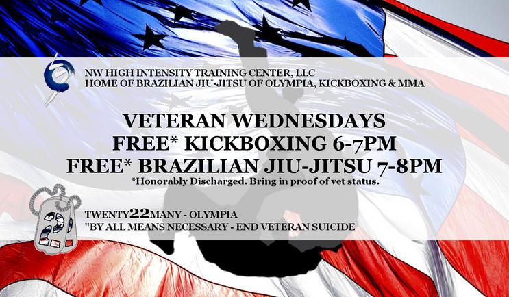 Veteran Wednesdays @ BJJ of Olympia - NW HIT Center, LLC
