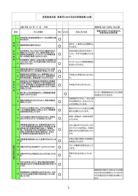 ひよこ18 事業所における自己評価結果(公表).jpg
