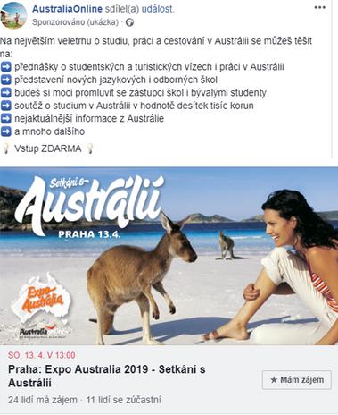 Studijní pobyty v Austrálii