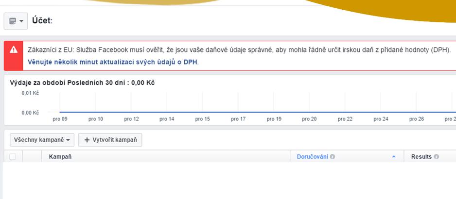 Placená reklama na Facebooku: Musím být plátce DPH?