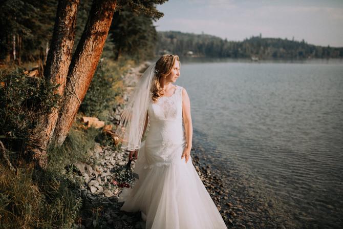 Bridge Lake Wedding