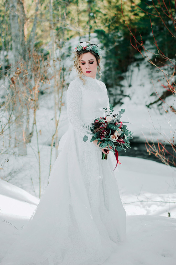 Winter Bridal Shoot!
