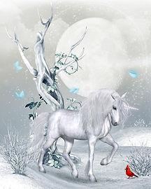 magical-unicorn-winter-landscape-magical