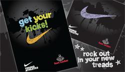 Foot-Locker-Nike-Typography