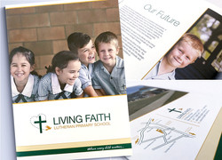living-faith-logo-design-brochure-design