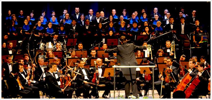 (imagem de uma Orquestra)