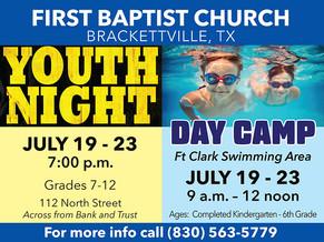 Kids Camp/Youth Nights