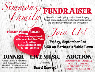 Simmons Family Fundraiser