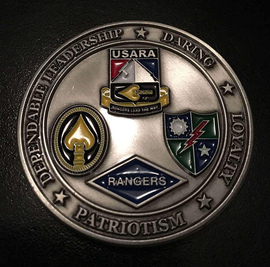 USARA Coin Front