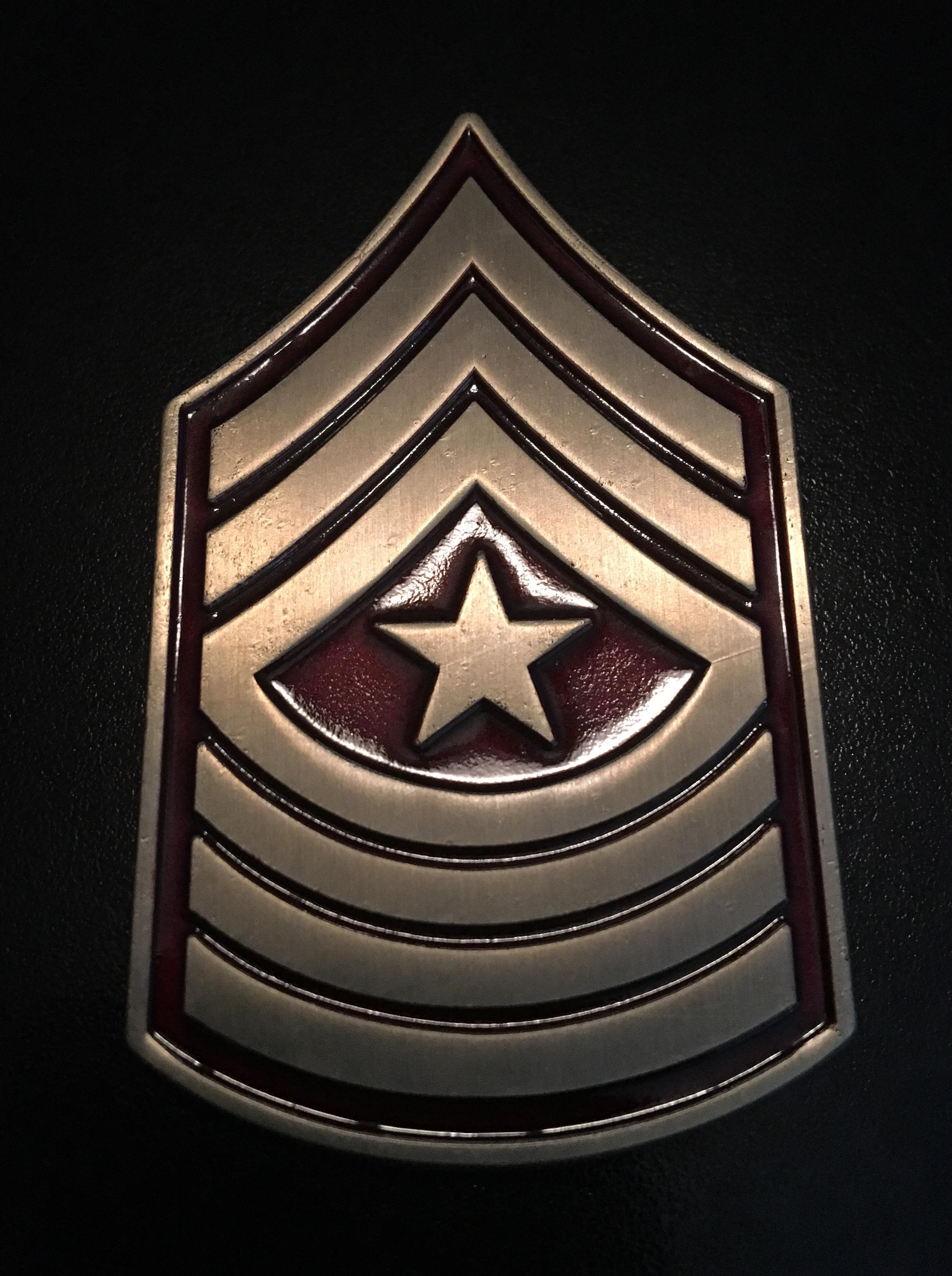 USMC SGM front
