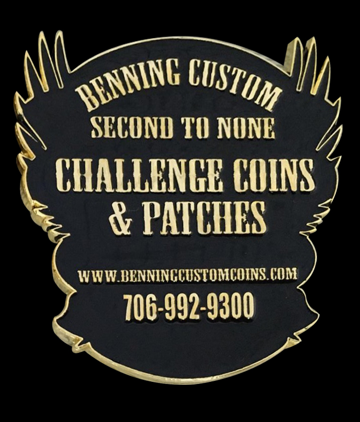Benning Custom Coin back
