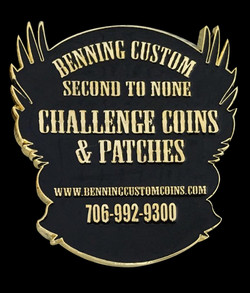 Benning Custom Coin back