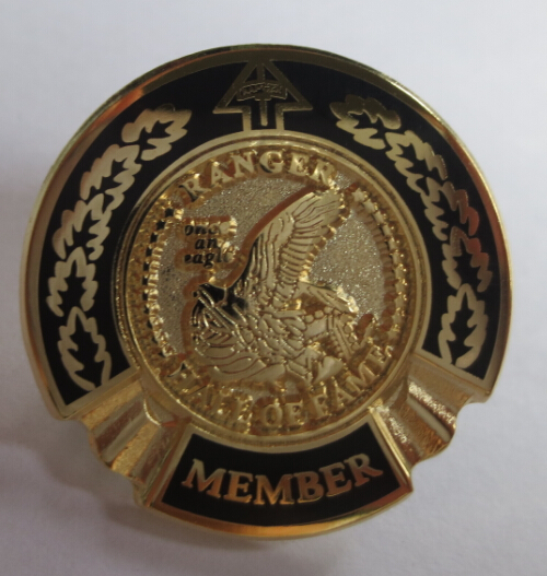 Ranger Hall of Fame Pin
