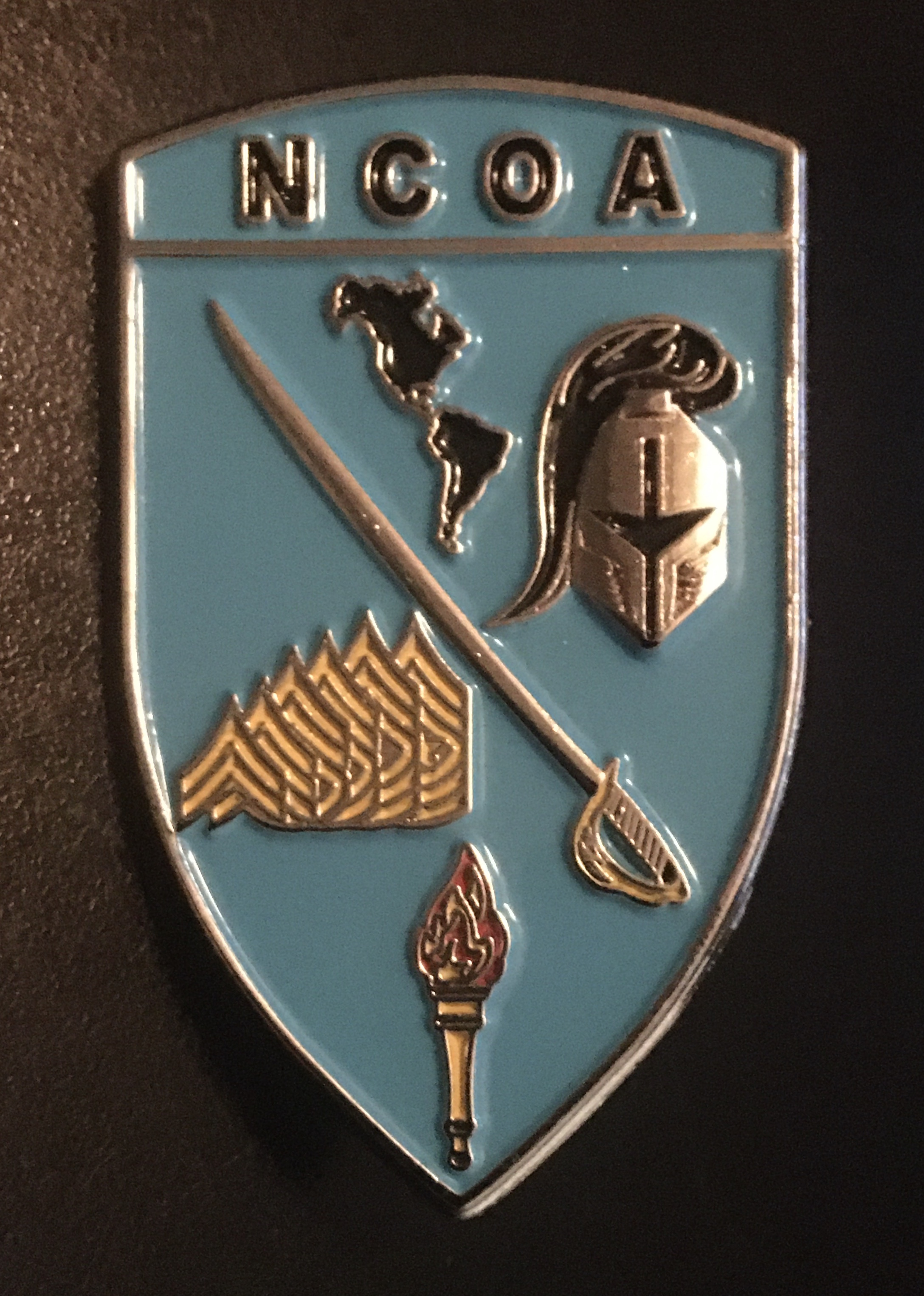WHINSEC NCOA Badge