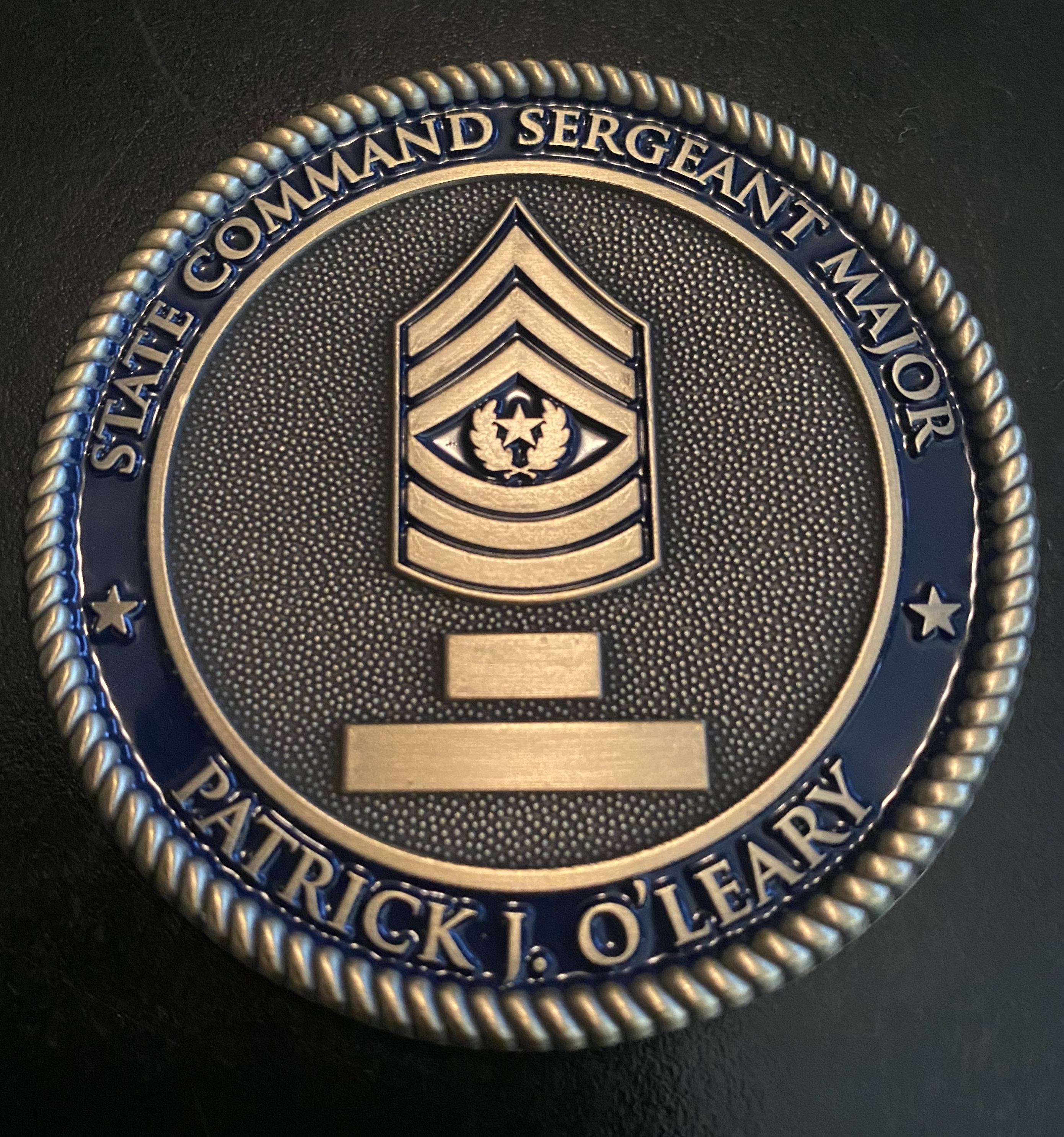 GSDF CSM O'Leary-Back