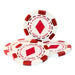 5th Infantry Division Poker Chip