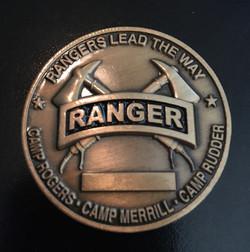 Ranger School coin back