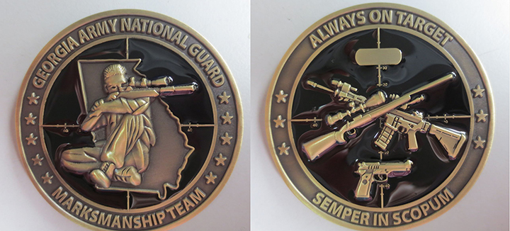 National Guard Marksmanship Coin