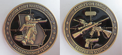 National Guard Marksmanship Coin