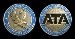 US Department of State ATA Coin