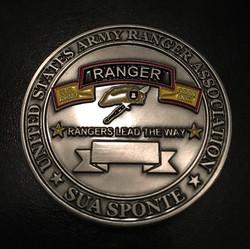 USARA Coin back