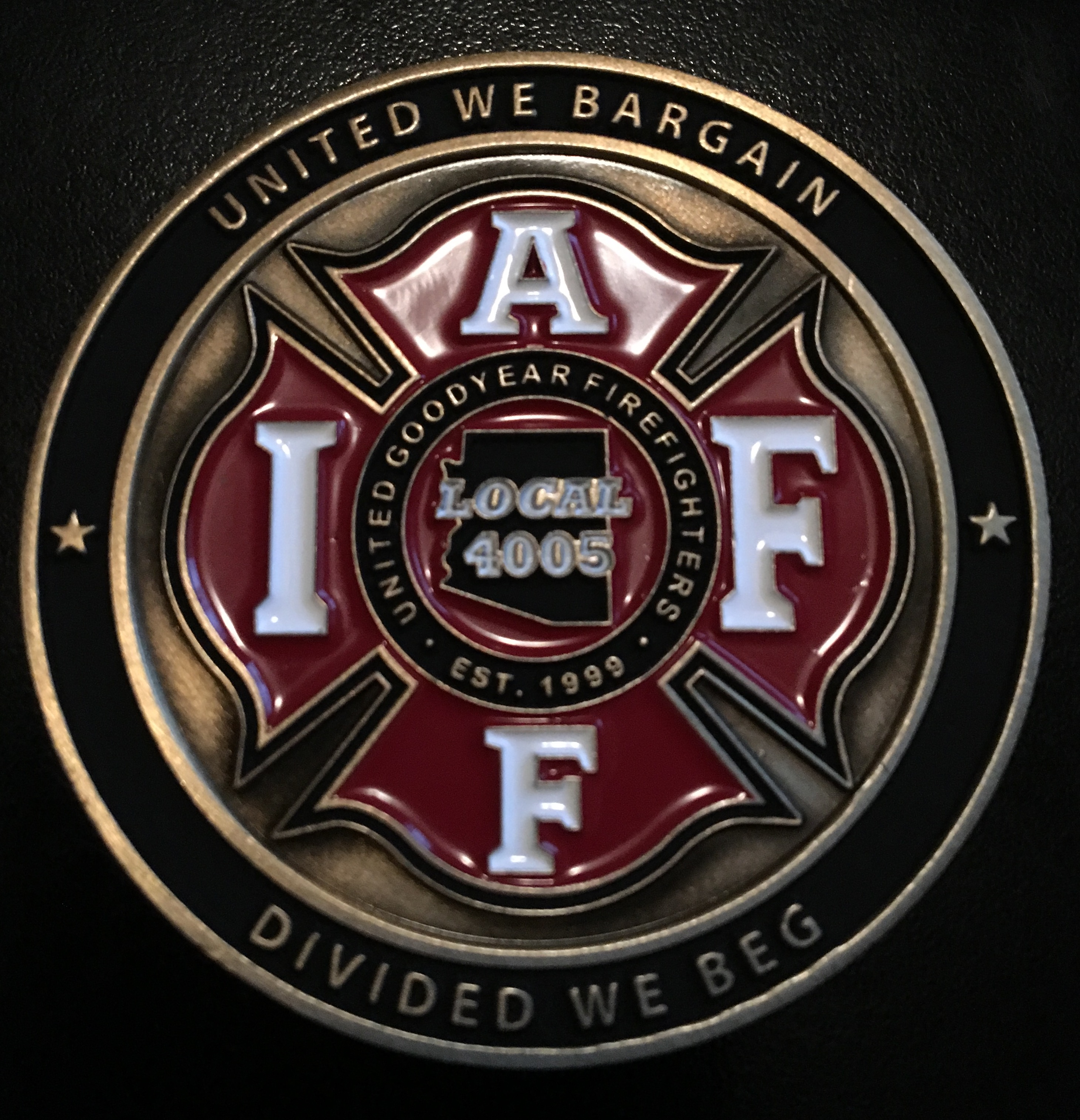 IAFF 4005  front
