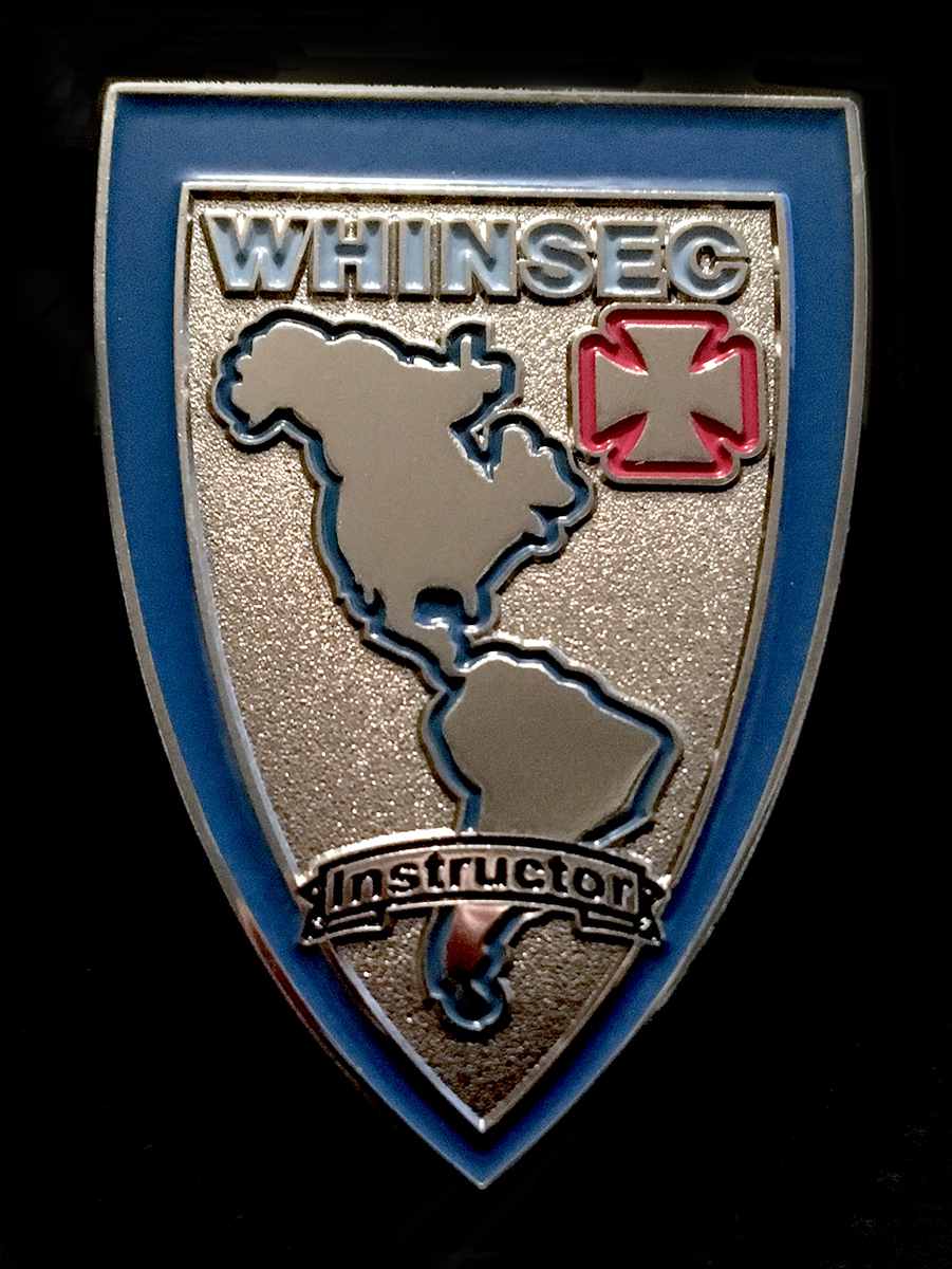 WHINSEC INSTR BADGE