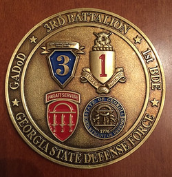 The GSDF 3rd BN 1st BDE Coin
