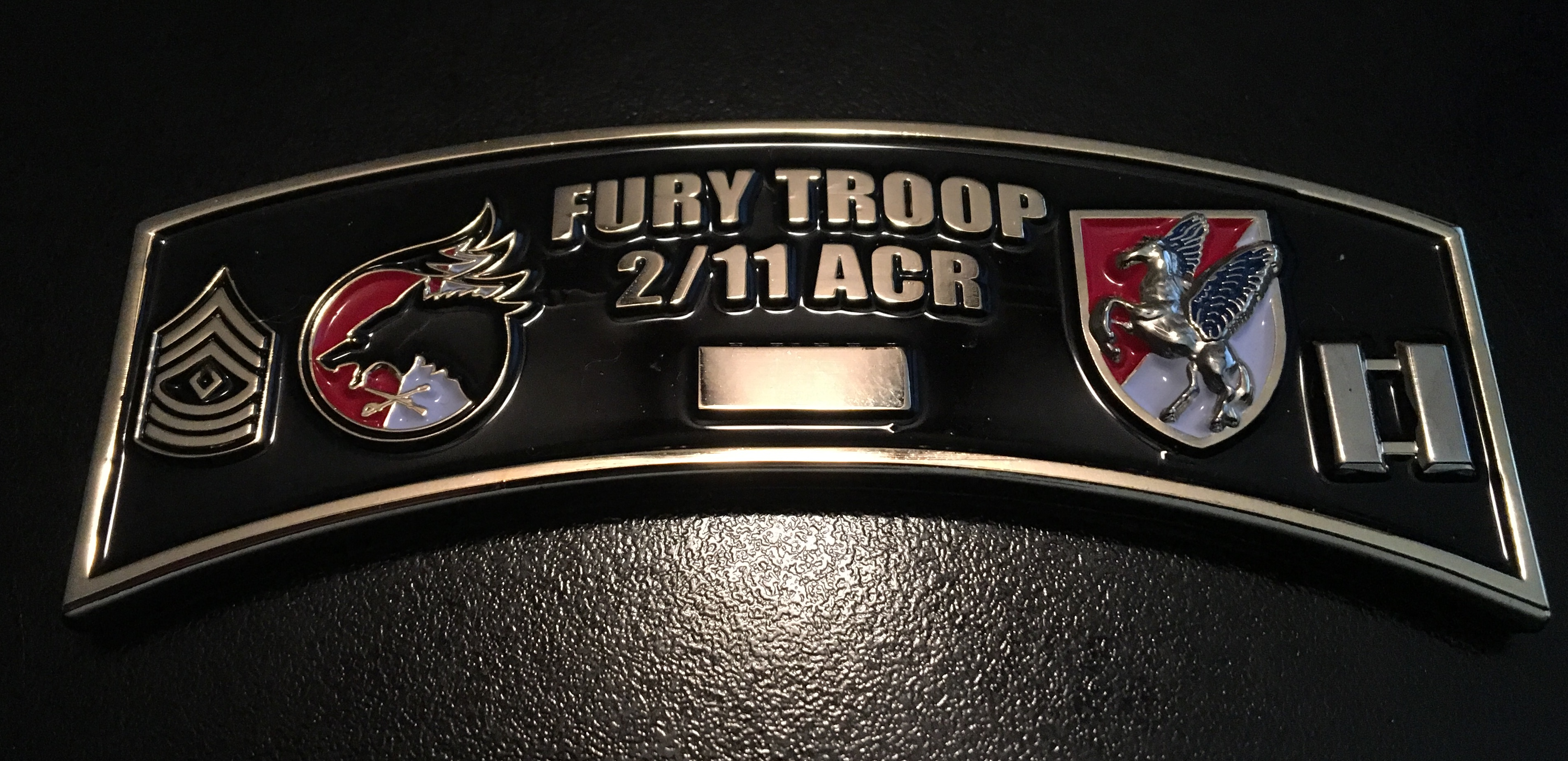 Fury Troop 2/11CAV Back
