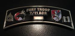 Fury Troop 2/11CAV Back