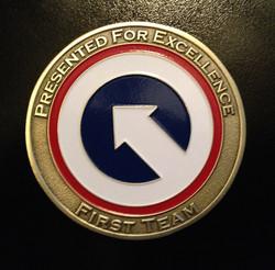 Benning Custom Challenge coins