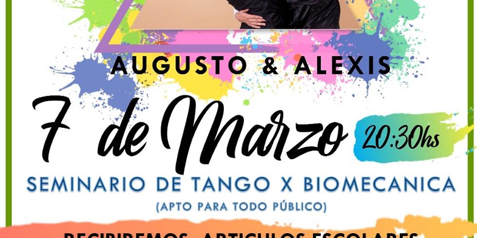Seminario de tango abierto a la comunidad