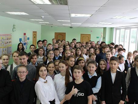 Святки в Володарской школе
