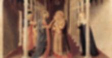картина Фра Анжелико. Принесение во храм ХV в.