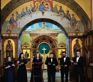 Концерт духовных песнопений Великого Поста.